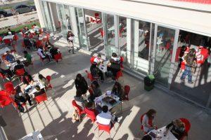 Prep School Cafeteria